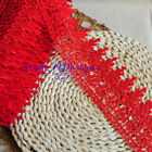 1 Yard Embroidered Lace Trim Ribbon For Dress Skirt Veil Diy Sewing Craft Fp54