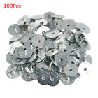 100200pcs Candle Wick Durable Sustainer Wick Tabs Silver For Candle Making Gift