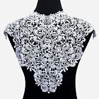 1 Pc Applique Lace Fabric Sewing Craft Embellishments Trims Diy Neck Collar