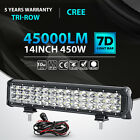 Tri-row 9121420233136inch Led Light Bar Spot Flood Offroad 4wd Atv