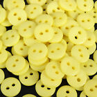 300x Resin Buttons Mixed Colors Craft Scrapbook Sewing 15mm 2 Holes Round