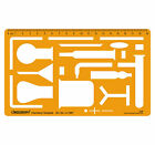 Chemical Engineering Science Drafting And Design Template Stencil Symbols Scale