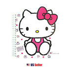 Hello Kitty B6 Die-cut Cutie Cover Spiral Lined Notebook Note Pad