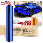 15 Colors Supercast Easy Stretch Chrome Car Vinyl Wrap Bubble Free Sticker Film