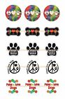 Peace Love Dogs 1 Circles Bottle Cap Images. 2.45-5.50 Free Shipping
