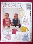 Mccalls Oop Sewing Pattern Infants Baby Clothes Jumpsuit Romper Dress You Pick