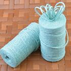 100m 3ply Burlap Natural Fiber Jute Twine Rope Cord String Craft Diy Gift Deco