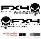 Ford F150 F250 Fx4 Punisher Off Road Decal Vinyl Truck Sticker 2009 2010 2011