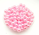 Wholesale 4mm6mm8mm10mm Acrylic Round Pearl Diy Spacer Loose Beads