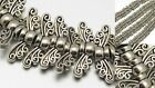 Butterfly Angel Wing Beads Silver Fairy Dragonfly Jewelry Findings Supplies 14mm