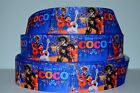 Grosgrain Ribbon 78 1.5 Cartoon Disney Coco Movie Printed.