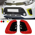 Oem Parts Front Bumper Air Duct Trim Garnish Lh Rh Assy For Kia 2018 19 Picanto