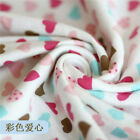50x190cm Knitted Cotton Baby Jersey Fabric Diy Material Fish Alphabet Heart S