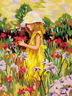 Oil Painting On Canvas Art Decor Paint By Number Kit Diy Acrylic Angel Women