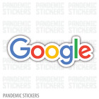 Google Logo Decal Sticker Die Cut Color Window Adhesive Laptop Browser Chrome