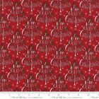 Hearthside Holiday Berry Red 19831 14 By Deb Strain For Moda Fabrics