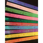 85pcsset Lucky Star Folding Paper Origami Laser Strip Ribbons Craft Best Gift