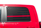 Usa Flag Decals Thin Red Line Fits Ram 1500 2010-2018 Side Windows Hemi Dc2-r