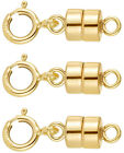 14k Gold Filled 4.5 Mm Magnetic Clasp Converter For Jewelry And Necklaces Usa
