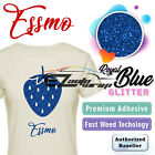 Essmo Glitter Heat Transfer Vinyl Htv Sheet T-shirt Iron On Press Weed Easy 20