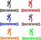 Browning Hunting Vinyl Decal Sticker Car Truck Window