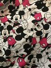 Disney Knitted Fabric - Mickey Mouse Toss - White - 100 Cotton-170cm Wide