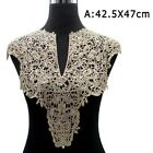 1x Lace Neckline Collar Beautiful Flower Embroidery Lace Applique Sewing Fabric