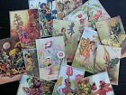 Bb31c Lot Of 14 Vintage Flower Fairies C Die Cuts For Card Making Free Shipping