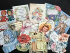 Bb90 -- Lot Of 12 Vintage Mothers Day Greeting Card Die Cuts For Card Making