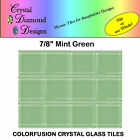 12 - 78 Crystal Glass Mosaic Tiles For Your Mosaic Designs