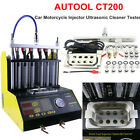 Autool Ct200 Gasoline Ultrasonic Fuel Injector Cleaner Tester For Car Motor Van