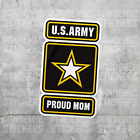 U.s Army Proud Vinyl Decal Sticker Military Car Laptop Dad Mom Son Wife Active