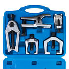 6pcs Pitman Arm Puller Ball Joint Separator Tie Rod Front End Tool Set W Case
