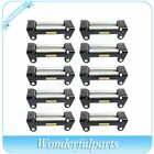 Utv Offroad Winch Roller Fairlead 4 Way Cable Guide 10 Bolt Pattern New 10pcs