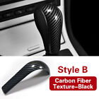 Abs Carbon Fiber Style Car Gear Shift Knob Cover Sticker For Bmw 3 5 Series E90