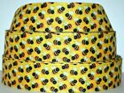 Grosgrain Ribbon 78 1.5 Bumble Bee Buzz Blind Spring Flower Bees Printed