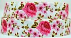Grosgrain Ribbon 78 1.5 Floral Peony Flower Mothers Day Flowers Printed.