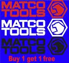 Matco Tools Decal Sticker Screwdriver Ratchet Wrench Socket Set But 1 Get 1 Free