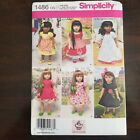 New Simplicity Sewing Pattern For 18 Inches Doll Clothes And Accessories