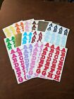 Creative Memories Stickers Abcs Length 34 - You Pick Color - Free Shipping
