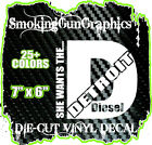 She Wants The Detroit Diesel Vinyl Decal Sticker Truck Stacks Mud 4x4 Smoke