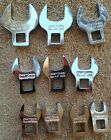 Genuine Craftsman Crowfoot Wrench Sets 10 Sae 10 Mm Or 20 Pc Inch Metric