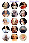 Marilyn Monroe 1 Circles Bottle Cap Images. 2.45-5.50 Free Shipping