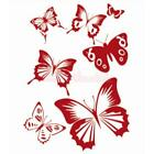 Reusable Butterfly Dolphin Stencil Diy Wall Decoration Art Painting Craft