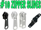 10 Chain Zipper Sliders Single And Double Pull Upholstery-quanity 2 Pre Order