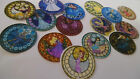 Pre Cut One Inch Bottle Cap Images Stained Glass Disney Princess Free Shipping