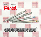 Japan Pentel Graphgear 500 Mechanical Pencil All Sizes Drawing Drafting -alley