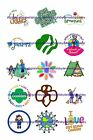 Girl Scouts 1 Circles Bottle Cap Images. 2.45-5.50 Free Shipping