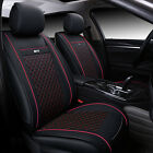 Auto Car Universal Front Rear Cushion Full Set Seat Pu Leather Protector Cover