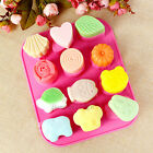 Silicone Ice Cube Candy Chocolate Cake Cookie Candles Soap Diy Molds Mould